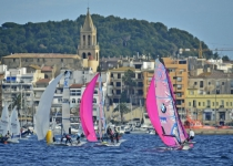 OPEN 49er FX at the 2015 Palamós Christmas Race