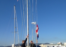 No wind, no races on day four