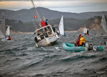 Extreme sailing on day three